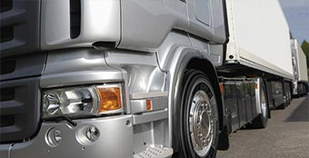 High quality tyres for large commercial truck.